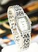 Женские наручные часы с серебристым браслетом код 512, фото 2
