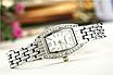 Женские наручные часы с серебристым браслетом код 512, фото 3
