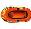Полутораместная надувная лодка Intex Explorer 200, 185х94 см, с веслами и насосом, фото 4