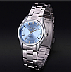 Наручные часы женские с серебристым ремешком код 281, фото 2