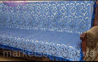 Комплекты покрывал Полуторный Диван и два кресла. Шенилл, фото 2