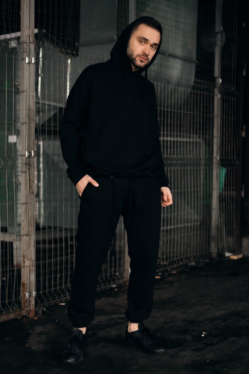 Костюм чоловічий спортивний Cosmo Intruder сірий Кофта толстовка + штани + Подарунок