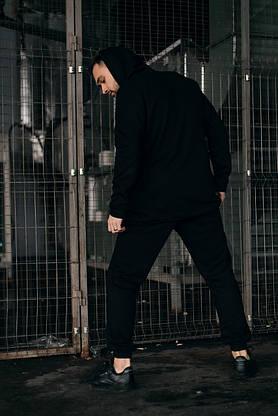 Костюм чоловічий спортивний Cosmo Intruder сірий Кофта толстовка + штани + Подарунок, фото 3