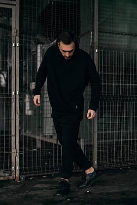 Костюм чоловічий спортивний Cosmo Intruder сірий Кофта толстовка + штани + Подарунок, фото 2