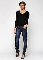 Синие демисезонные джинсы A.M.N. размер 26(40) CC-6651-00