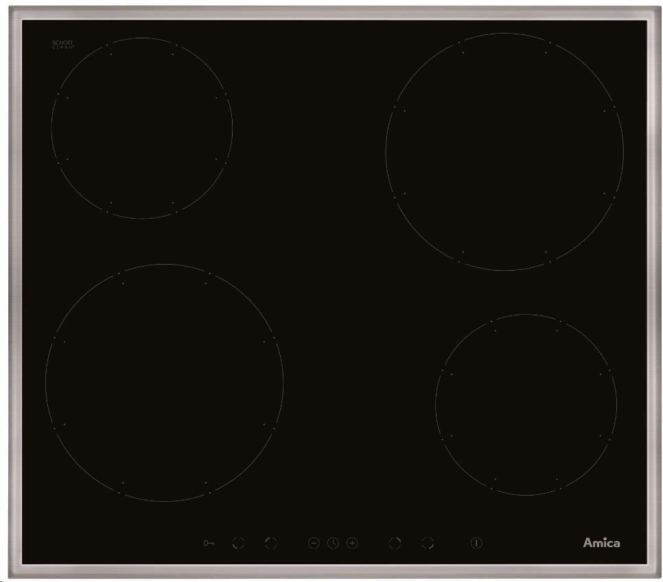 Нова індукційна Варильна поверхня Amica DI 6401 RBно