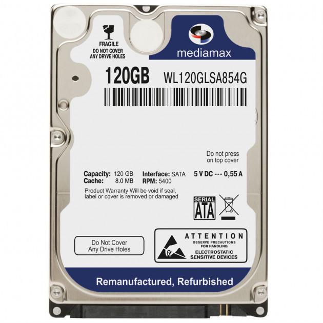 Жесткий диск  Mediamax 2.5 120 Gb