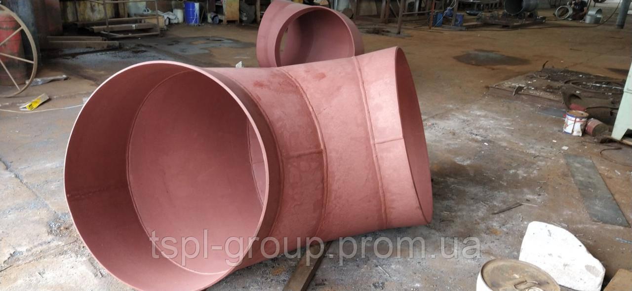 Відвід сталевий 630х10 мм ГОСТ 10704-91