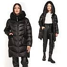 Зимова Жіноча Куртка Пуховик з хутром на кишенях Visdeer 🇨🇳Фабричний Китай Розмір 48/50, фото 8