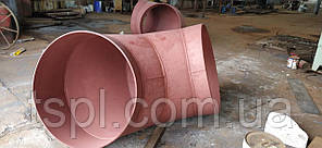 Отвод стальной 630х12 мм ГОСТ 10704-91