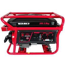 Генератор газ/бензин Vitals JBS 2.8 bg
