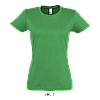 Футболка женская Imperial Women, Kelly-green_272, SOL'S, размеры от S до 2XL, плотность 190 г/м2, фото 2
