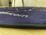 """Плюшевий килимок """"Мішутка"""" утеплений (150 см діаметр), фото 3"""