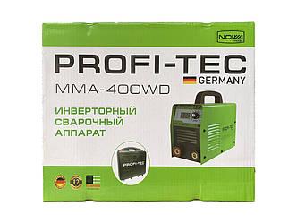 Сварочний апарат інверторний PROFI-TEC ММА-400WD
