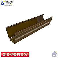 Водосточный желоб Devorex Elegance 140 3 м Коричневый