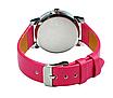 Наручные женские кварцевые часы с розовым ремешком код 153, фото 5
