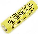 Оригинальный Аккумулятор LIITOKALA Lii-50E 21700 5000mAh 15A Li-Ion без эффекта памяти, фото 3