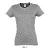 Футболка женская Imperial Women, Grey-melange_350, SOL'S, размеры от S до 2XL, плотность 190 г/м2, фото 2
