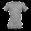Футболка женская Imperial Women, Grey-melange_350, SOL'S, размеры от S до 2XL, плотность 190 г/м2, фото 3