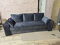 """Ортопедический диван евро-книжка с пошаговым механизмом """"Иллюзия"""". 200*160 размер спального"""