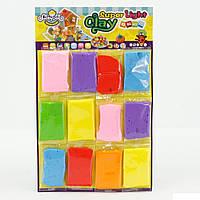 Дитячий ігровий Набір для творчості для дітей від 3 років: Маса для ліплення - Суперлегкий пластилін 12 кольорів