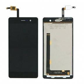 Дисплей Blackview Omega Pro с сенсором (тачскрином) черный, фото 2
