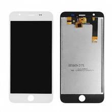 Дисплей Blackview Ultra Plus с сенсором (тачскрином) белый
