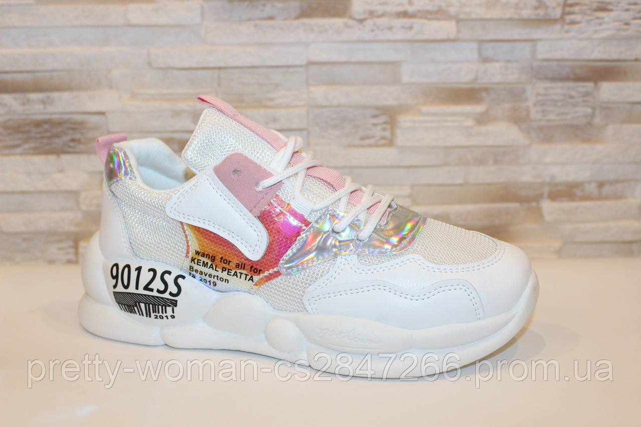Кросівки білі жіночі Т1213 40