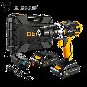Аккумуляторный шуруповерт-дрель DEKO Loner 16V (1 батарея)