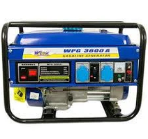 Бензогенератор WERK WPG3600A (2.5 кВт)