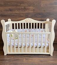 Детская кроватка -диван Angelo Lux -10 слоновая кость