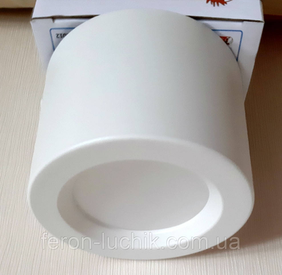 Потолочный светильник цилиндр LED 5W 4200K Sandra-5 светодиодный накладной точечный белый