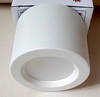 Потолочный светильник цилиндр LED 5W 4200K Sandra-5 светодиодный накладной точечный белый, фото 1