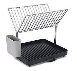 """Сушилка для посуды и столовых приборов 2-уровневая """"Y-Rack"""" 30.3х28.5х35.8см полипропиленовая Joseph Joseph"""