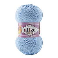 Alize Cotton gold  - 728 голубий