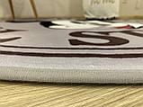 """Бесплатная доставка! Утепленный коврик """" Микки""""  (150 см диаметр), фото 6"""