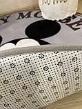 """Бесплатная доставка! Утепленный коврик """" Микки""""  (150 см диаметр), фото 8"""