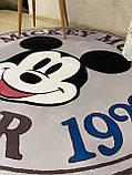 """Бесплатная доставка! Утепленный коврик """" Микки""""  (150 см диаметр), фото 7"""