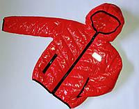 Куртка подростковая светоотражатели 116-140 см синтепон (девочка, мальчик), фото 1