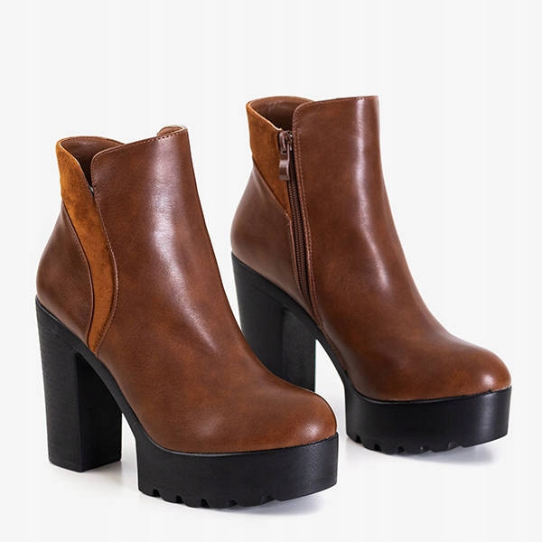 Женские ботинки AMELIDA Brown
