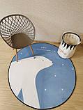 """Бесплатная доставка! Утепленный коврик """"Умка""""  (150 см диаметр), фото 4"""