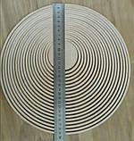 Кільця для ловця снів тонкі 0,5 см дерев'яні 19 шт./набір , для макраме, фото 2