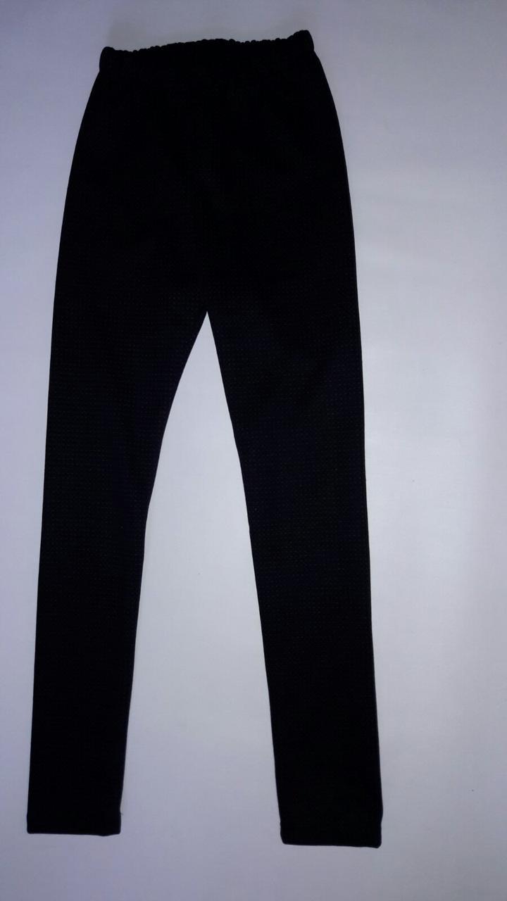 Лосины на подростка девочку на флисе 140-176 см