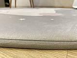 """Плюшевий килимок """"Мішутка"""" утеплений (150 см діаметр), фото 9"""