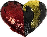 """М'яка ігр. """"Серце з паєтками"""" №1/00228-30, фото 1"""