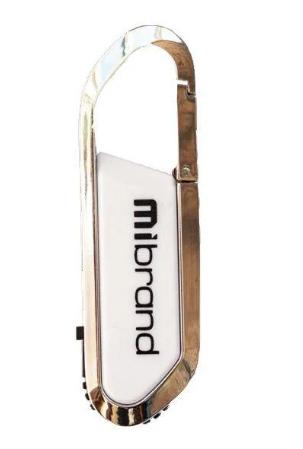 "Флеш-пам`ять 16GB ""Mibrand"" Aligator USB2.0 white №0199"