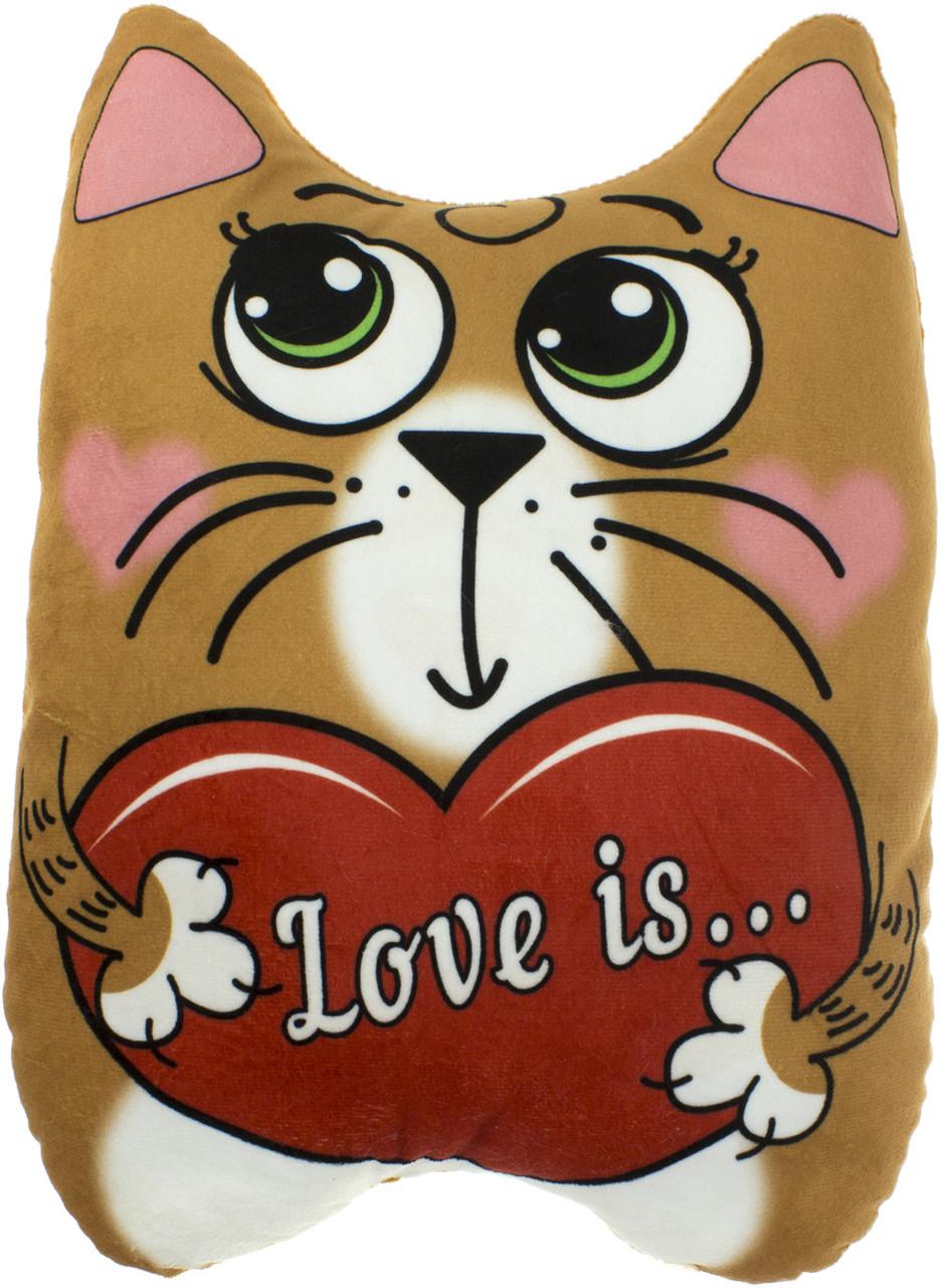 """М'яка ігр. """"Кіт Вітальний"""" коричневий №00295-998"""
