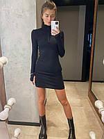 """Плаття """"Ніка"""" чорний, фото 1"""