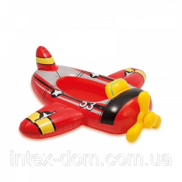 Надувная лодочка Intex 59380 «Самолет» (119 х 114 см)
