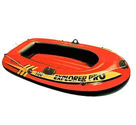 Одноместная надувная лодка Intex Explorer Pro 100, 160х94 см
